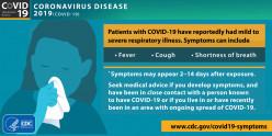 COVID-19 Pandemic:  Take It Seriously, Take A Breath