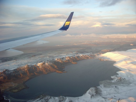 Up High Over Iceland