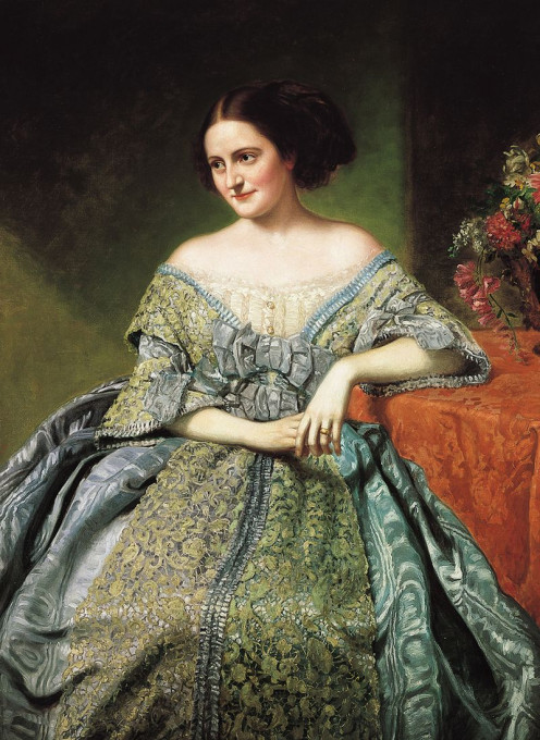 Sally Ward, a southern belle by George Peter.