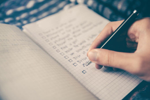 To-do lists help us to keep order of things, but are they always the best idea for a clear mind?