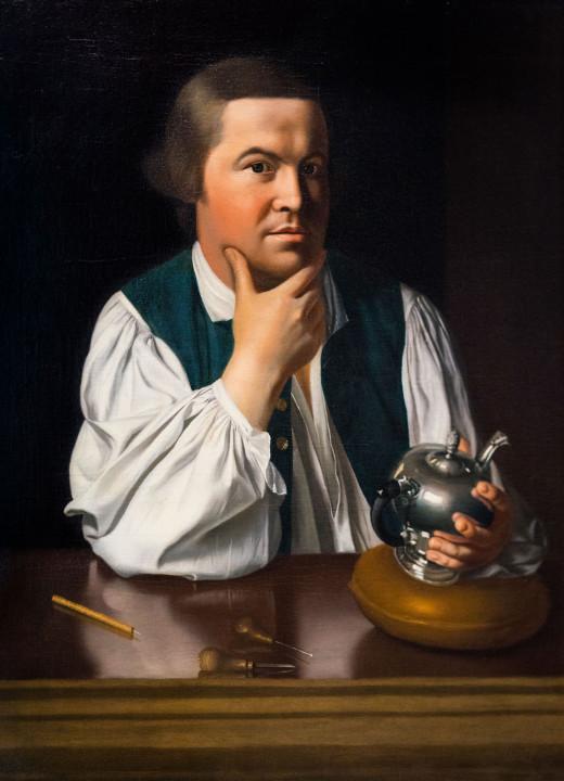 The Patriot Paul Revere