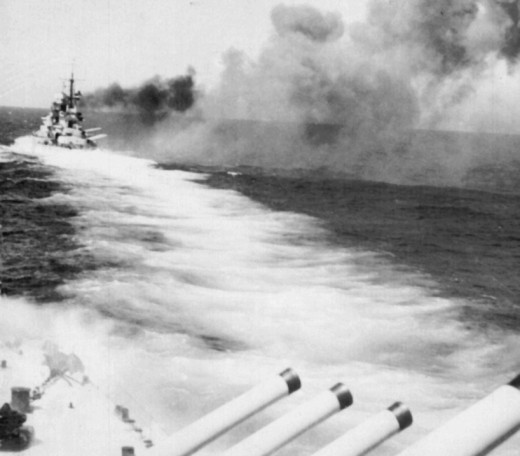 Cape Sparda, the first fleet action between the Italians and the British in the Mediterranean