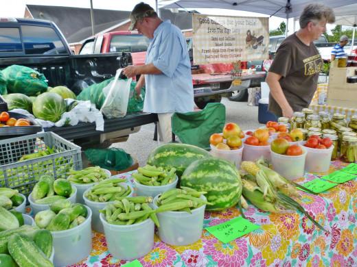 Good looking fruits & veggies
