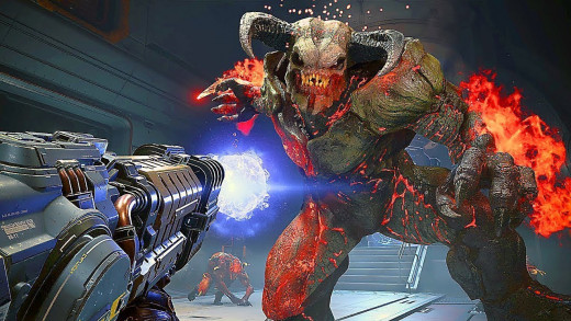 Doom Eternal released with physical copies March 20th 2020.