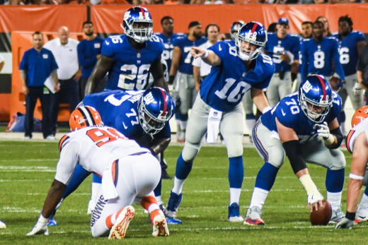 Cleveland Browns vs. New York Giants, August 2017.
