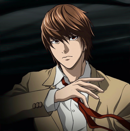 Light Yagami from Death Note Designed by Takeshi Obata