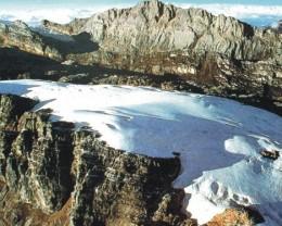 Glacier at Lorentz National park