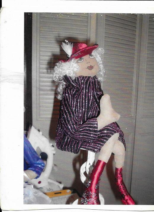 "My ""Funky"" doll"