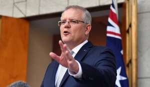 Because of the coronavirus outbreak, the Australian prime Minister Scott Morrison pops up on TV to tell us what is being done and what we need to do. One of these days he is going to put Australia on lockdown, where nobody can go out. .