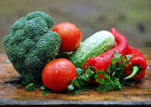 Vegetables are an excellent source of protein and fiber.