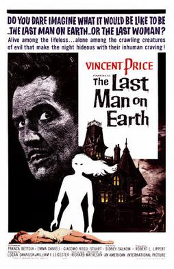 """""""The Last Man on Earth"""" movie poster."""
