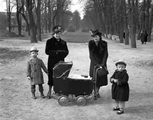 Photo: Fortepan / LIVING TIVADAR (1941) City Mayor.