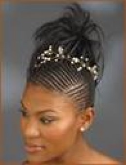 free pictures of african braided hairstyles