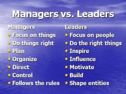 PROJECT MANAGEMENT - Leadership