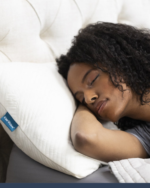Use CBD pillows instead of normal pillows. They will help you fall asleep easily.