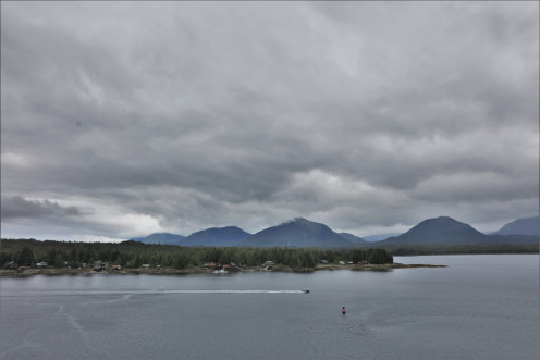 Tongass Narrows with Pennock and Gravina Islands