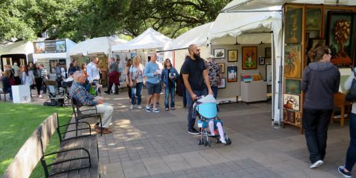 Bayou City Art Festival 2019 Downtown Houston