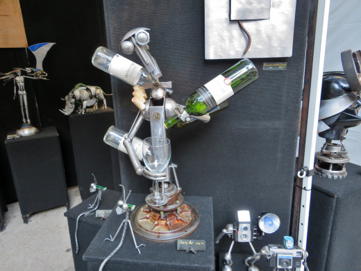 Adam Homan metal sculpture