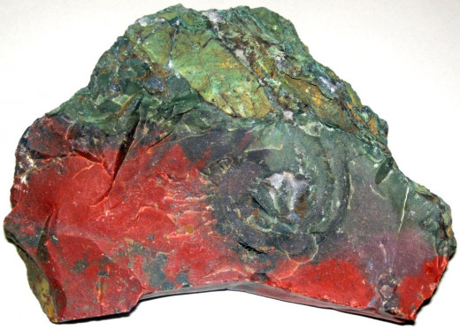 Bloodstone is also known as heliotrope.