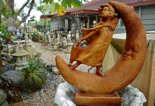 Numerous eye catching items at In The Garden