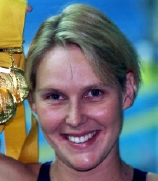 Australian swim star at the 2000 Olympic Games