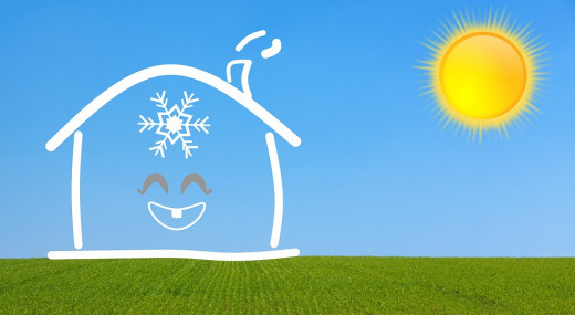 There are multiple ways to keep your house cool, inside and out.