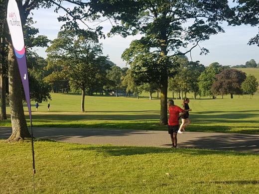 Roundhay Park parkrun in Leeds