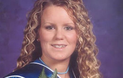 Jessie Foster graduated from John G. Diefenbaker High School in 2002.
