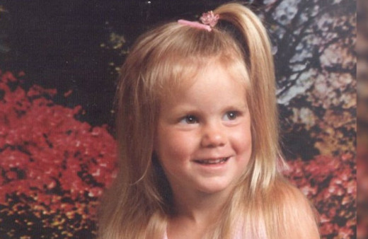 Jessie Foster as a child. Jessie vanished in April 2006 from Las Vegas, Nevada.