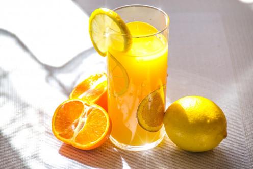 Make fresh orange juice with carrots!