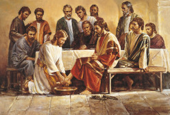 The Washing of the Feet and Jesus' Servant Mind