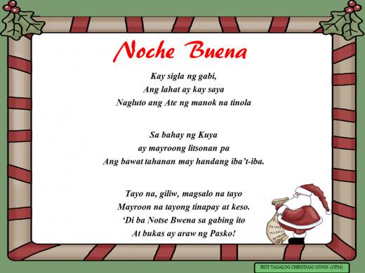 Noche Buena Lyrics