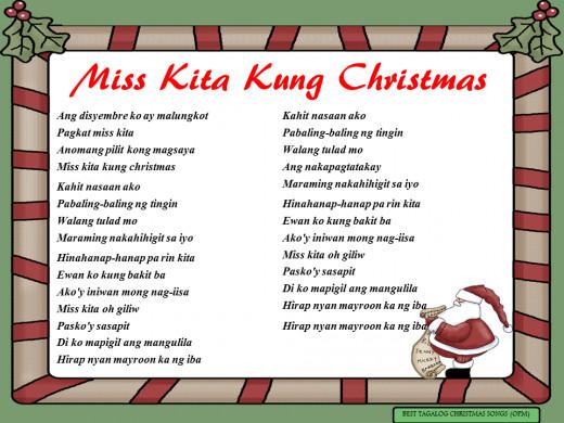 Miss Kita Kung Christmas Lyrics