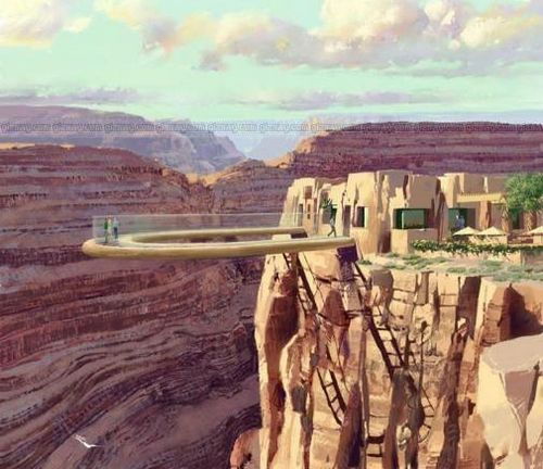 Present-day Skywalk at the West Rim.