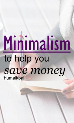 Practicing Minimalism to Save Money