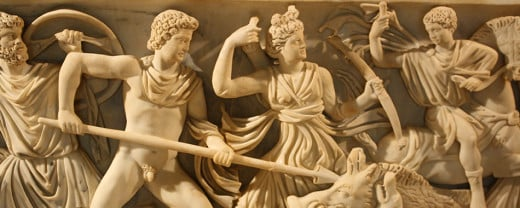 Ancient Greeks were known for their fantastic sculptors such as Myron, Phidias, and Scopas.