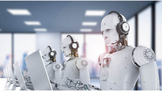 Do we really need human form robots to sit in a call center and answer phones? This can be done with a single server.