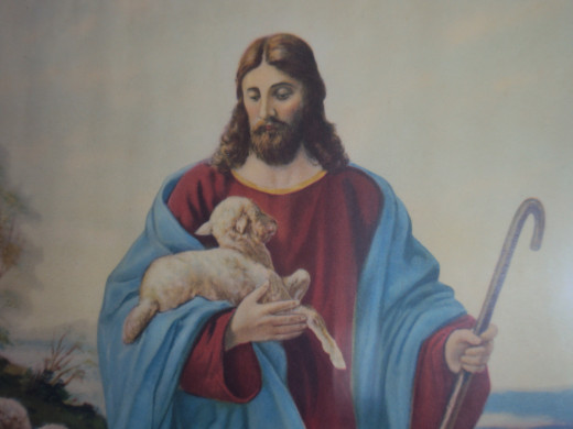 """Is he the """"sacrificial lamb of God"""" who died for all mankind that we might be saved from our sins? Or isn't he?"""