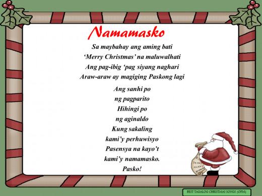 Namamasko Lyrics