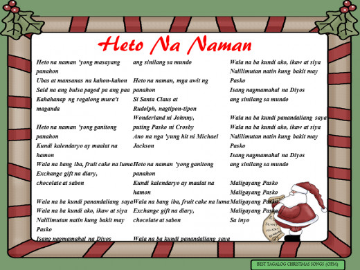 Heto Na Naman Lyrics