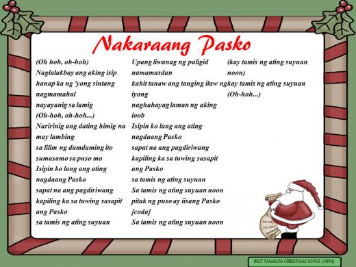 Nakaraang Pasko Lyrics