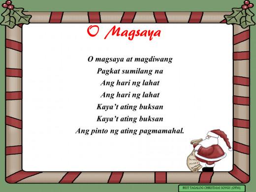 O Magsaya Lyrics