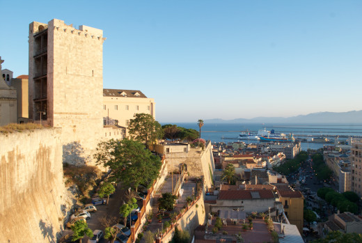 Cagliari views © Justina Janeliunaite