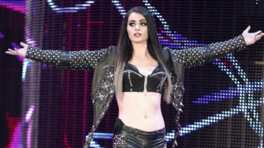 22. Paige – A dominant music to show that WWE is her house
