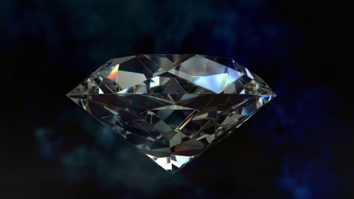 """A diamond which is also one of the main objects that we see in the episode """"Clear Case."""""""