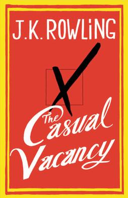 I found The Casual Vacancy at my local Goodwill, sitting abandoned and forgotten there, like orphaned Harry Potter exiled to the muggle Dursleys