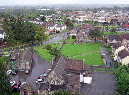The fictional town of Pagford in The Casual Vacancy may be inspired by Yate, Gloucestershire, the West Country town that was Ms. Rowling's birthplace.
