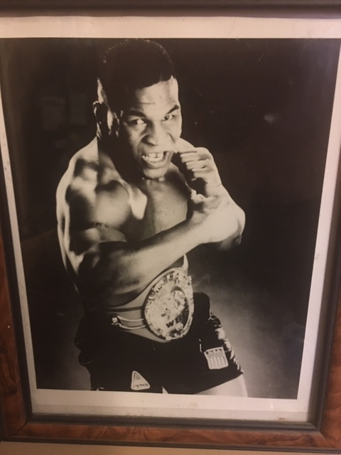 Framed Photo I have at home of Iron Mike