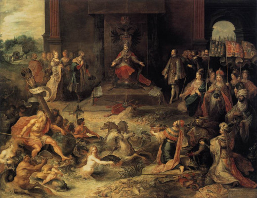 The Hapsburgs would play an important role in the development of the Low Countries for centuries, and the quality of Flemish art is testified to in this painting.