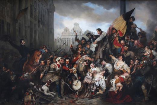 The Belgian Revolution of 1830.